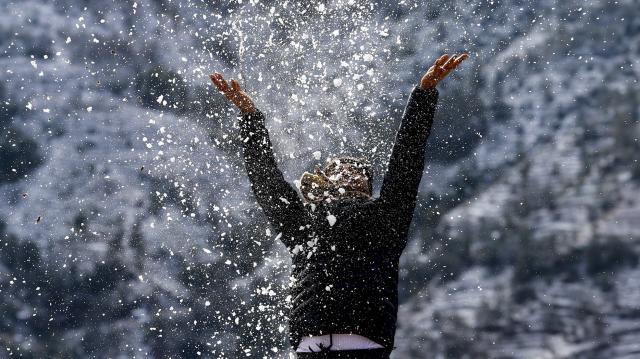 Havazik a Nagy-Hideg-hegyen