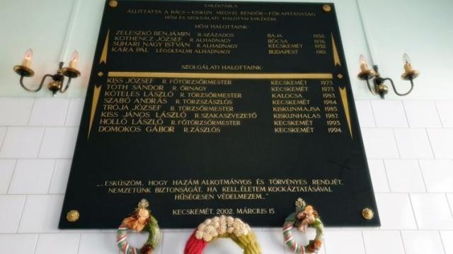Hősi halottjainkra emlékeztünk