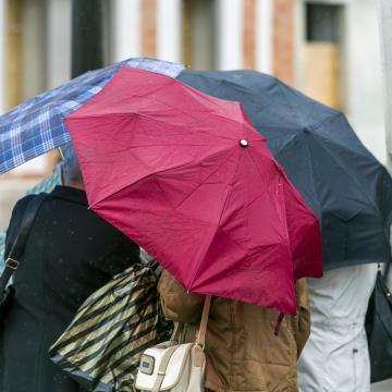 Másodfokú figyelmeztetést adtak ki keddre a sok eső miatt