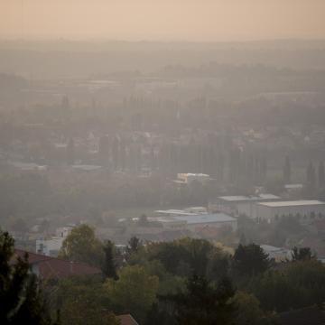 Szegeden elrendelték a szmogriadó tájékoztatási fokozatát