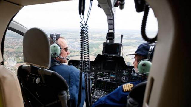 Toborzónap a légirendészetnél