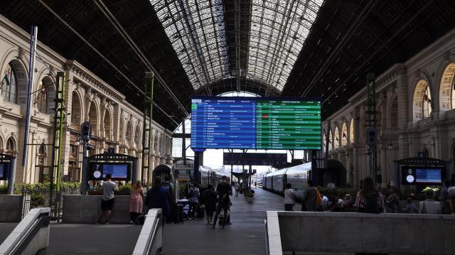 Változik a vonatok menetrendje a hét végén