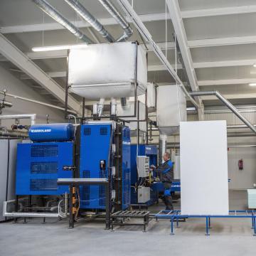 Bővítette termelőkapacitását a Bodrogi Bau Kft. Szegeden