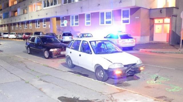 Ittasan okozott balesetet egy férfi Dunaújvárosban