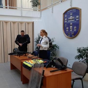 Nyílt napot tartottak az érdi rendőrkapitányságon