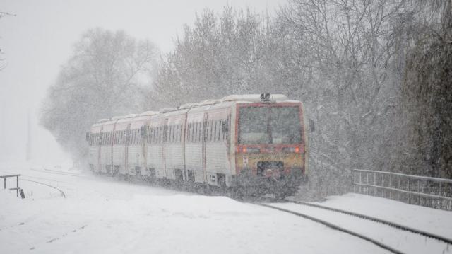 Nincsenek fennakadások a vonatközlekedésben