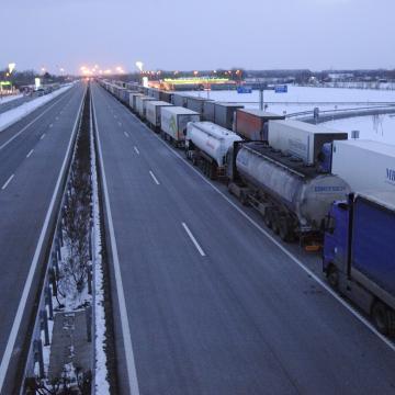 Baleset miatt lezárták az M5-ös autópályát Szegednél