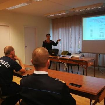 Érzékenyítő tréninget tartottak rendőröknek