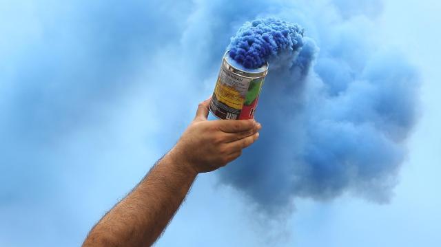 Füstgránát robbant fel két nagymágocsi fiatal kezében