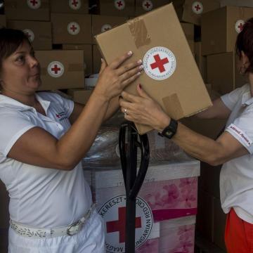 Idén is megrendezi karácsonyi élelmiszergyűjtési akcióját a Magyar Vöröskereszt