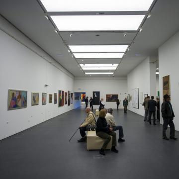 Kortárs képzőművészek munkái láthatóak a pécsi m21 Galériában