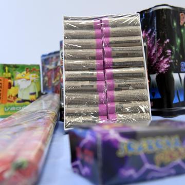 A hatóságok csak legális tűzijáték használatát javasolják