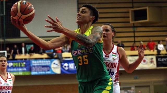 A világbajnok Candice Dupree ismét Sopronban kosárlabdázik