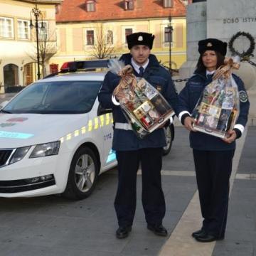Elismerés a rendőröknek