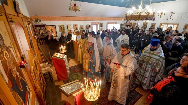 Felszentelték a debreceni Szent Háromság ortodox templomot