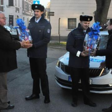 Elismerés a mosonmagyaróvári rendőröknek