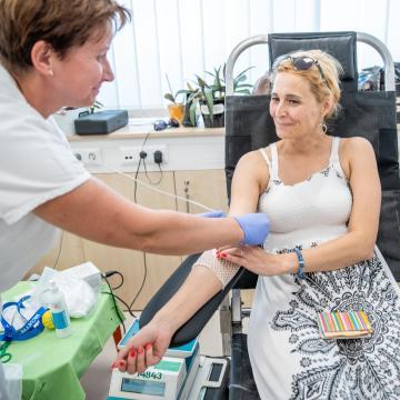 Tavaly mintegy 240 ezren adtak vért Magyarországon