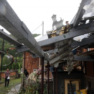 Több mint kétezer viharkárbejelentést fogadott az Allianz februárban