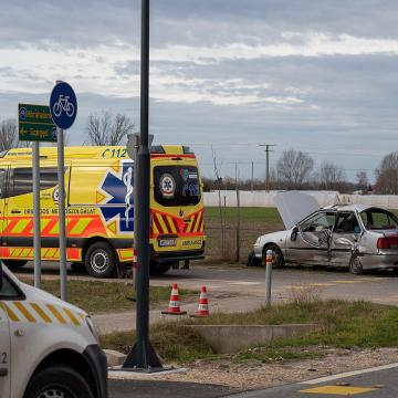 Halálos baleset történt Domaszéken