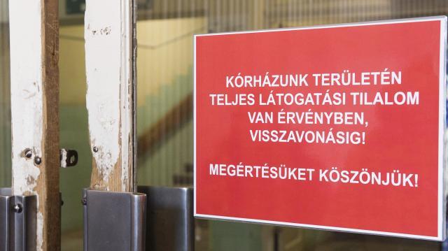 Országos látogatási tilalom lépett érvénybe