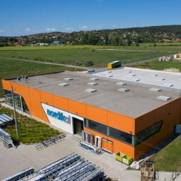Bővítette pákozdi gyártócsarnokát a Nordikal Kft.