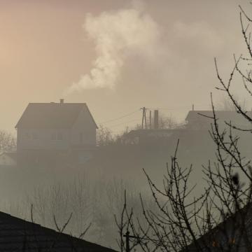 Porfelhő miatt nőtt a légszennyezettség