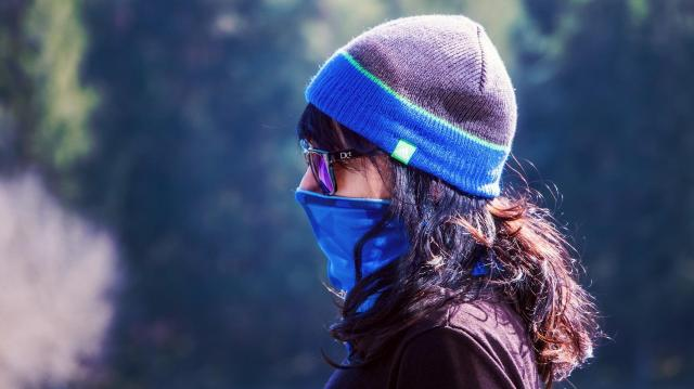 Az utcai védekezéshez elegendő a textilmaszk