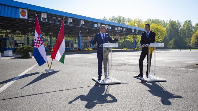 Egyedül Horvátország felé van nyitva az összes magyar határátkelő