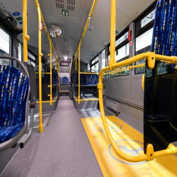 Fokozatosan visszaáll az első ajtós felszállási rend a Volánbuszokon