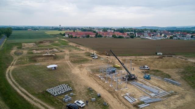 Elkezdődött a bonyhádi ipari park bővítése