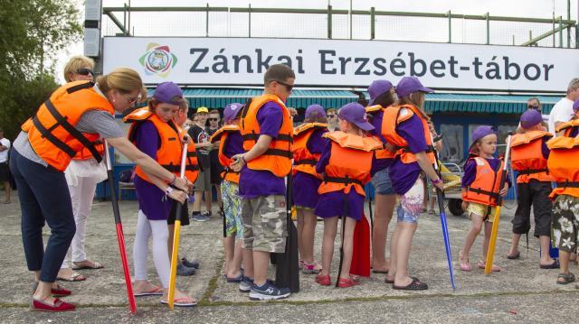 Fokozottan ügyelnek a biztonságra az Erzsébet-táborokban