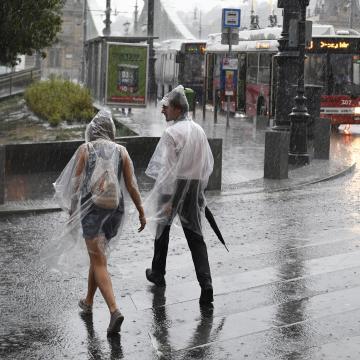 Legyen nálunk esernyő, ismét zivatarokra lehet számítani