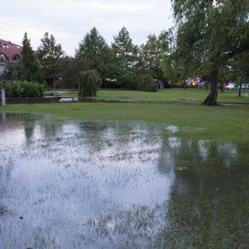 Megoldódik a csapadékvíz elvezetése Tiszaderzsen