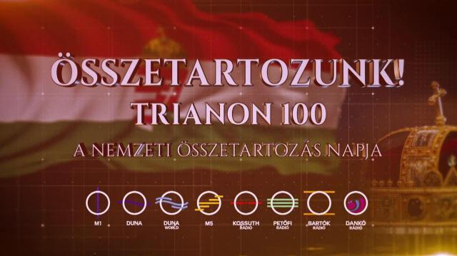Megszólaltak a harangok a trianoni békediktátum aláírásának századik évfordulóján