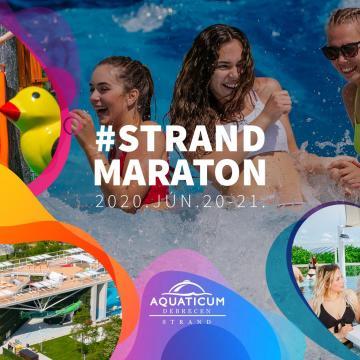 Strandmaratonnal nyílik június 20-án  az új Aquaticum Debrecen Strand!