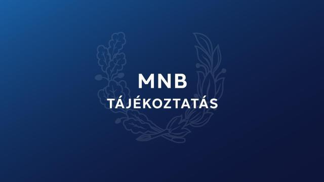 Újra lesz személyes ügyfélfogadás az MNB ügyfélszolgálatán