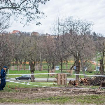Világháborús bombát találtak Sopronban