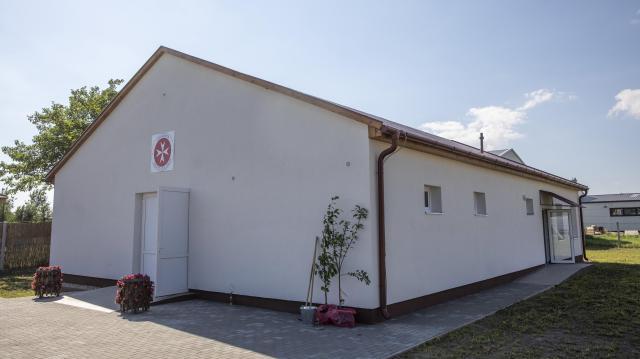 Krízisközpontot alakított ki a Johannita Segítő Szolgálat Mórahalmon