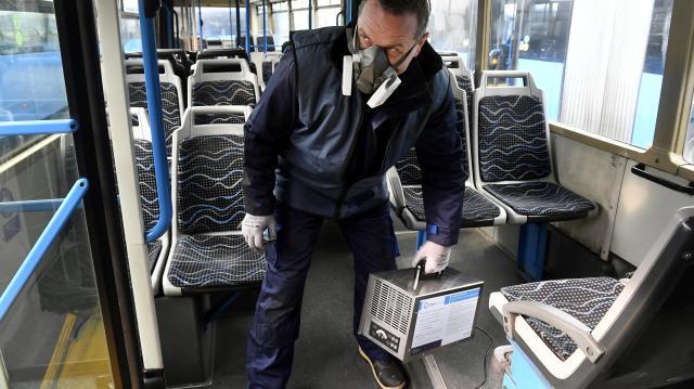 Ózongenerátorokat vásárolt a Volánbusz a hatékony fertőtlenítésért