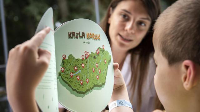 Tematikus tanösvényekkel bővült a Kajla-program