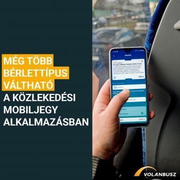 Változik a Közlekedési Mobiljegyek ellenőrzése