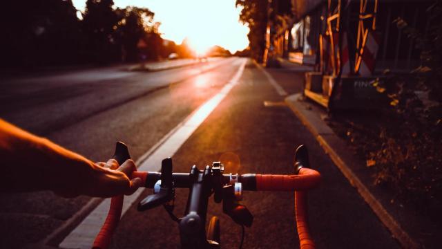 A járda nem a kerékpárosoké!