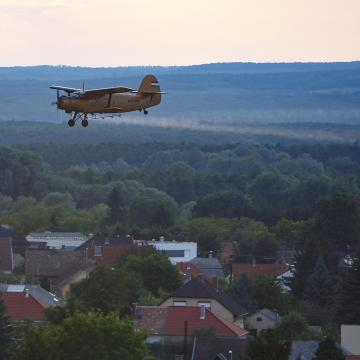 Az ország nagy részén irtják a szúnyogokat a héten