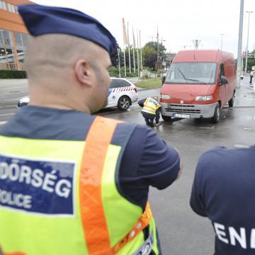 Baleset miatt fogták el a rendőrök