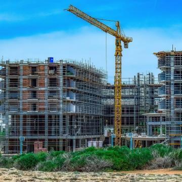 Csökkent az építőanyagok felhasználása