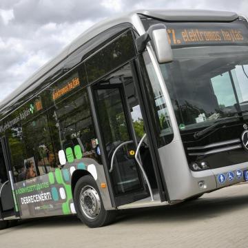 Debrecenben kezdődik a Zöld busz program