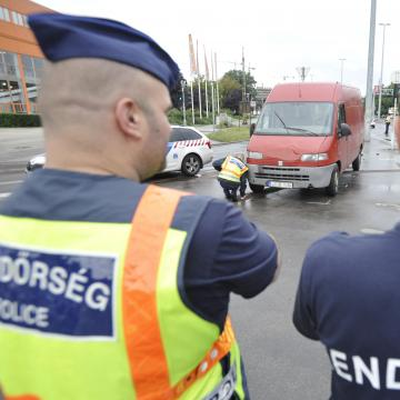 Fokozott ellenőrzést tartottak a rendőrök