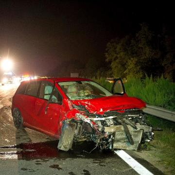 Halálos baleset történt az M5-ösön Inárcsnál