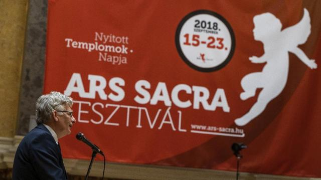 Mintegy 400 ingyenes program az idei Ars Sacra Fesztiválon