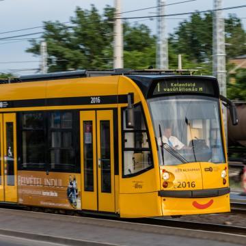 Pótlóbusz fog járni az 1-es villamos vonalán